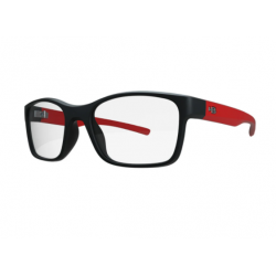 HB Polytech 93153 Teen Matte Black Red
